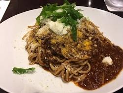カカオ風味のスパゲティー ボロネーゼ01.jpg